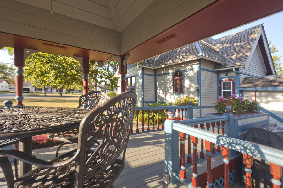 Olson house porch